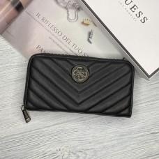 Женский брендовый кошелек Guess (7582) черный