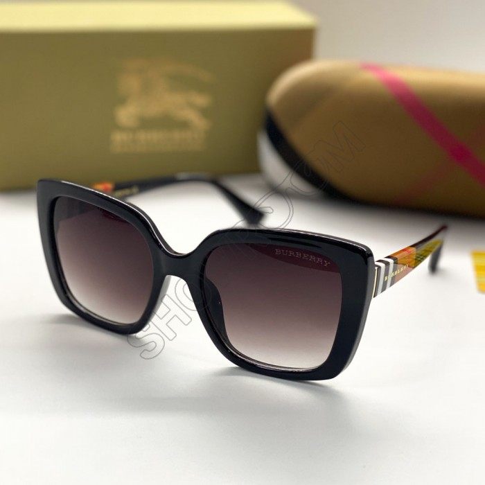 Женские брендовые солнцезащитные очки (7623) black