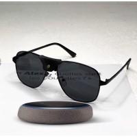 Мужские солнцезащитные брендовые очки (8020) black