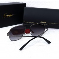 Мужские солнцезащитные брендовые очки (8020) grey