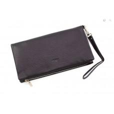 Мужской вместительный кожаный клатч (8103)