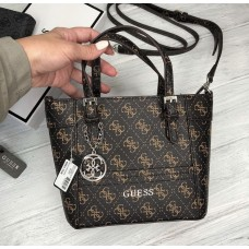 Жіноча сумка Guess (814) brown