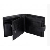 Кожаный мужской кошелек Leather Collection (831) подарочная упаковка