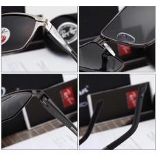 Мужские солнцезащитные очки Ray Ban c поляризацией (8367)