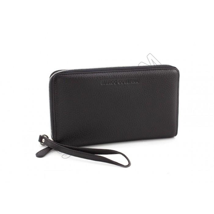 Мужской вместительный кожаный клатч барсетка Marco Coverna (8514)