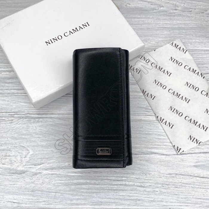 Кожаная мужская ключница-кошелек Nino Camani
