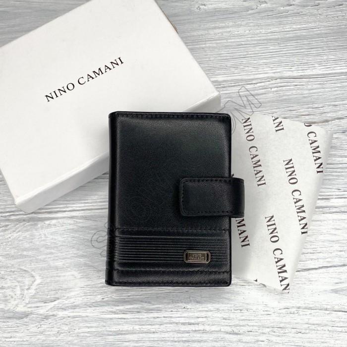 Кожаная визитница Nino Camani в подарочной упаковке