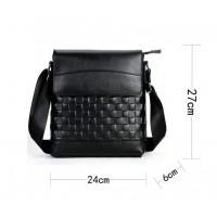 Кожаная мужская сумка Leather Collection (8867)