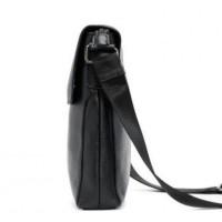Кожаная мужская сумка с клапаном Leather Collection (8873)