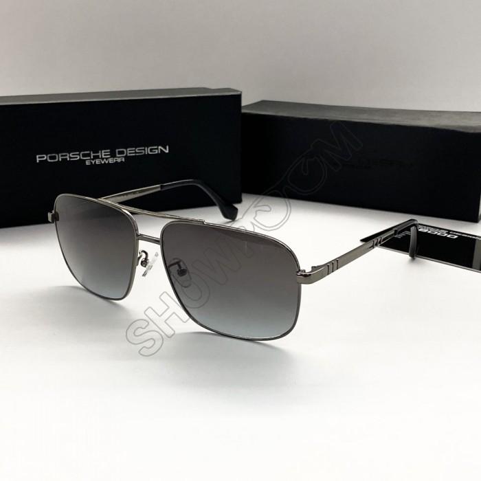 Мужские брендовые солнцезащитные очки Porsche Design (8906) Lux