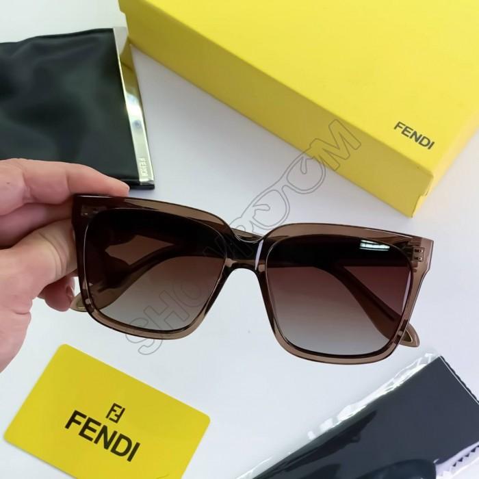 Женские большие очки от солнца (8925) polaroid