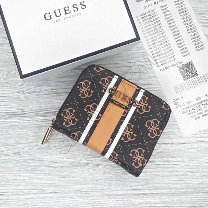 Небольшой женский кошелек Guess (900825) brown