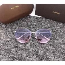 Брендові жіночі сонцезахисні окуляри TF (7297) purple