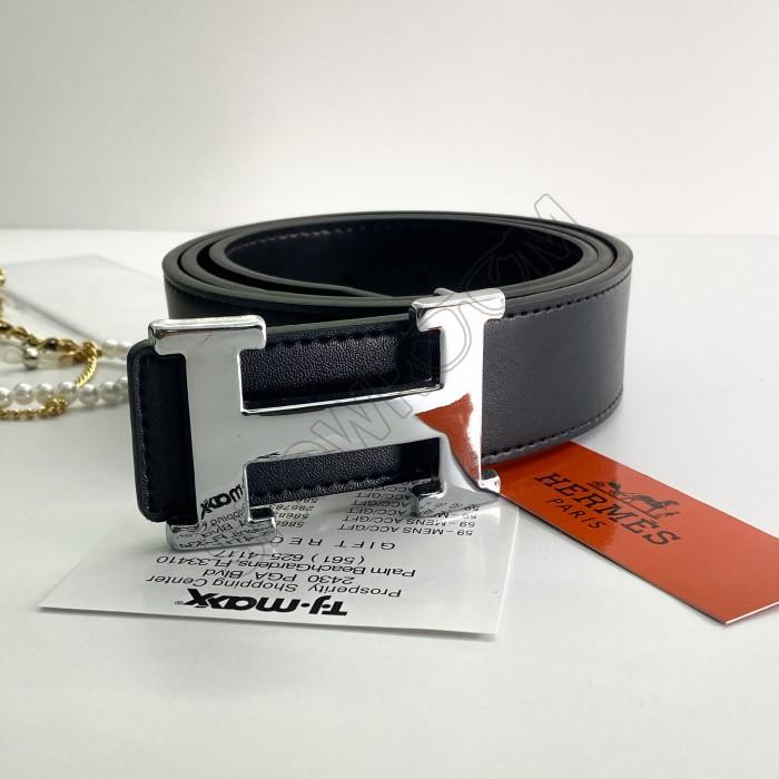 Женский брендовый ремень (9103) кожаный