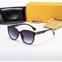 Женские очки от солнца Fendi (9437) black