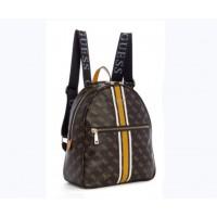 Женский брендовый рюкзак Guess (9532) brown