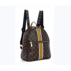 Жіночий брендовий рюкзак Guess (9532) brown
