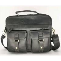 Кожаная мужская сумка Leather Collection (9912)