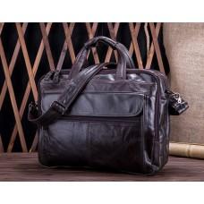 Чоловіча велика містка сумка Leather Collection (9945) шкіряна