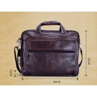 Мужская большая вместительная сумка Leather Collection (9945) кожаная