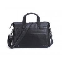 Кожаная горизонтальная сумка Leather Collection (9947)