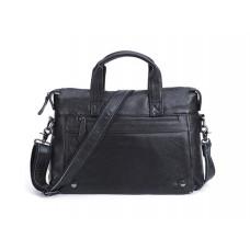 Шкіряна горизонтальна сумка Leather Collection (9947)