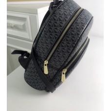 Жіночий шкіряний брендовий рюкзак Michael Kors Abbey Grey Lux