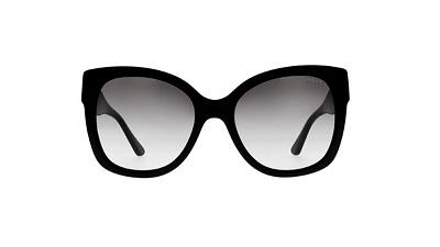 Овальные очки, бабочки женские