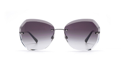 Безоправные очки женские