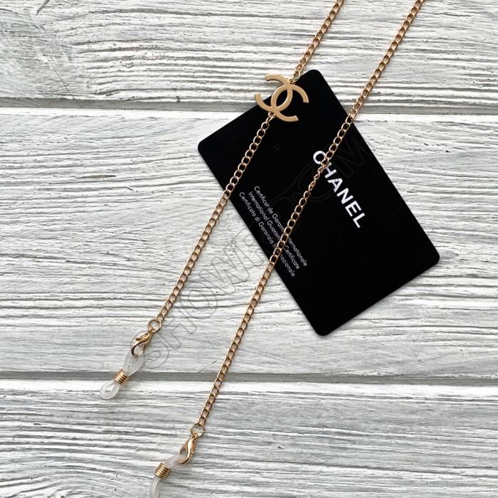 Брендовая цепочка для солнцезащитных очков Ch gold
