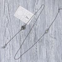Брендовая цепочка для солнцезащитных очков Dior silver