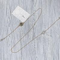 Брендовая цепочка для солнцезащитных очков Dior gold