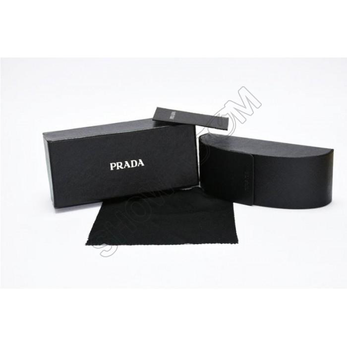 Брендовый чехол для мужских солнцезащитных очков Prada