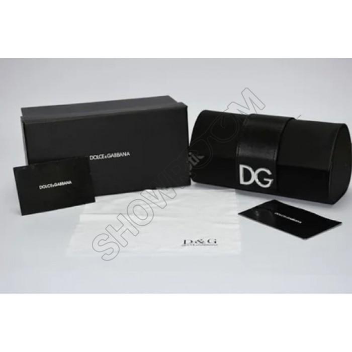 Брендовый чехол для солнцезащитных очков D&G