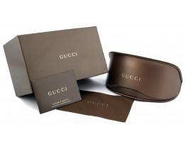 Брендовый чехол для мужских солнцезащитных очков Gucci