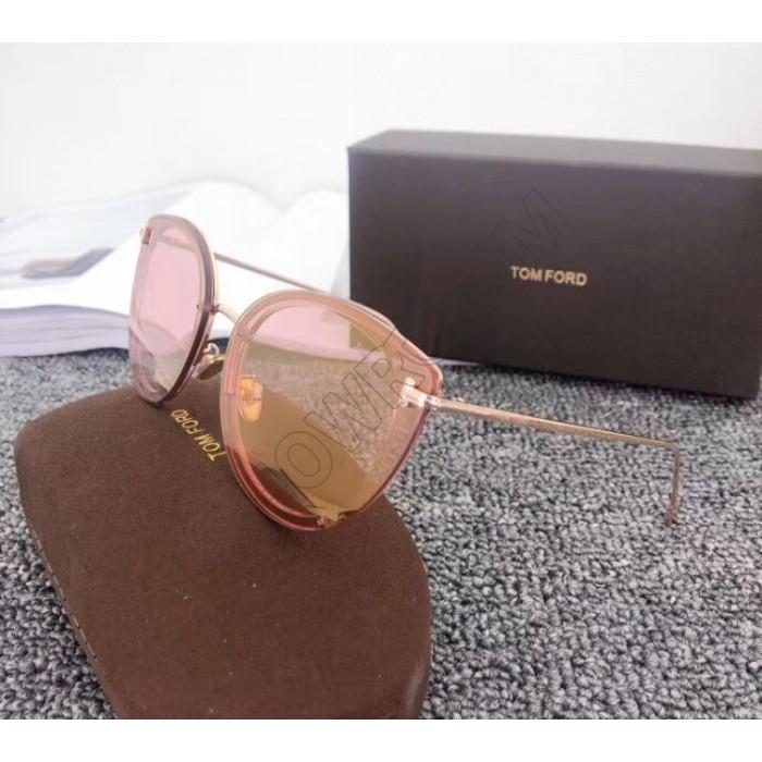 Брендовые женские солнцезащитные очки TF (7297) rose