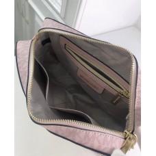 Женская кожаная сумка Mk Jet Set (212) rose Lux