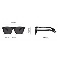 Мужские солнцезащитные очки Chrome Hearts (KLX302-1) полароид