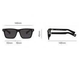 Чоловічі сонцезахисні окуляри Chrome Hearts (KLX302-2) полароїд