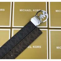 Женский кожаный ремень Mk (8001) подарочная упаковка