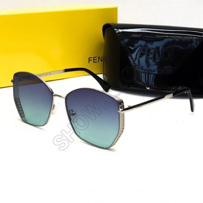 Жіночі окуляри від сонця Fendi (6050) зелені