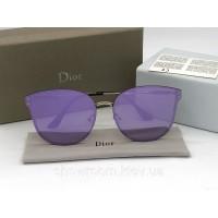 Женские зеркальные солнцезащитные очки (1559) фиолетовые