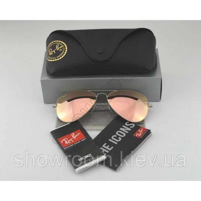 Женские солнцезащитные очки RAY BAN aviator 3025,3026 (019/Z2) Lux