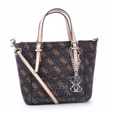 Женская сумка Guess (814) brown