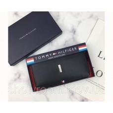 Мужской кожаный кошелек (072) подарочная упаковка