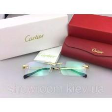 Чоловіча безоправна оправа Cartier 8200963 золота