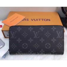 Жіночий гаманець Louis Vuitton (60017) dark grey