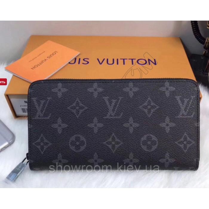Женский кошелек Louis Vuitton (60017) dark grey