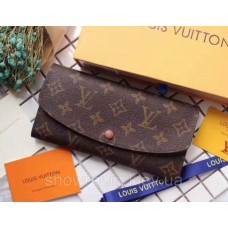 Женский кожаный кошелек Louis Vuitton (60136) brown