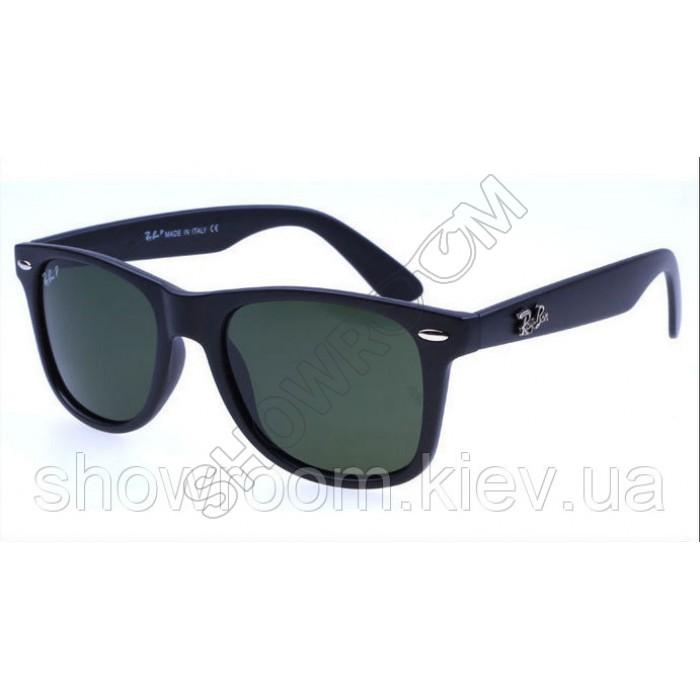 Женские солнцезащитные очки RAY BAN Wayfarer 2140 (black)